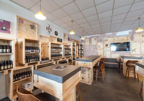 Agencement Bar A Biere Fabrication HENRY Agencement - Creation EDIFIX
