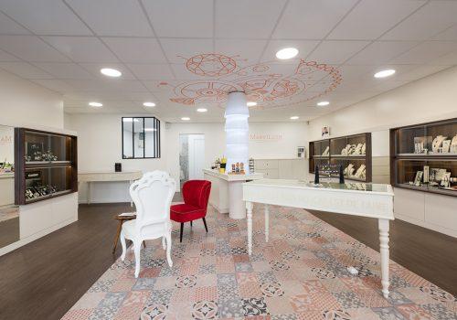 Agencement Bijouterie Fabrication HENRY Agencement - Creation EDIFIX