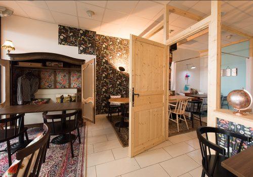 Aménagement Restaurant Fabrication HENRY Agencement - Creation EDIFIX