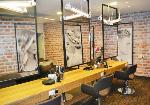 Salon De Coiffure Fabrication HENRY Agencement - Creation EDIFIX