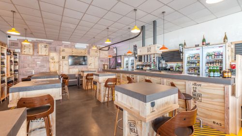 Agencement Sur Mesure Bar Et Restaurant
