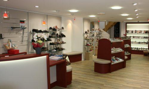 Aménagement Magasin De Chaussures