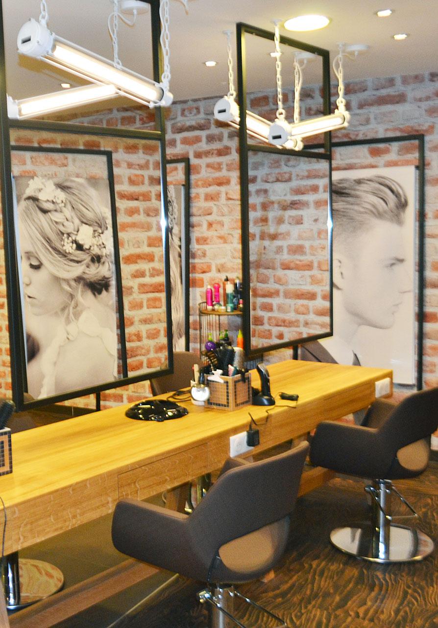 Agencement salon de coiffure